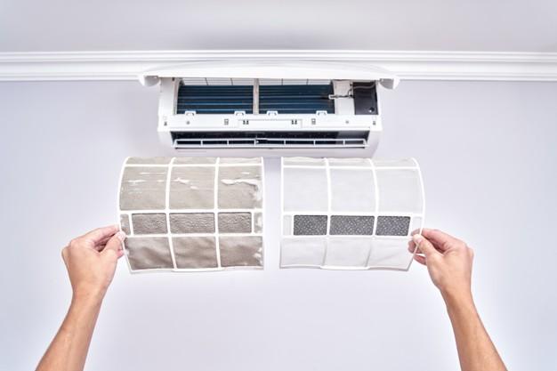Como reparar aire acondicionado limpieza de filtros de aire reparacion electrodomesticos barcelona